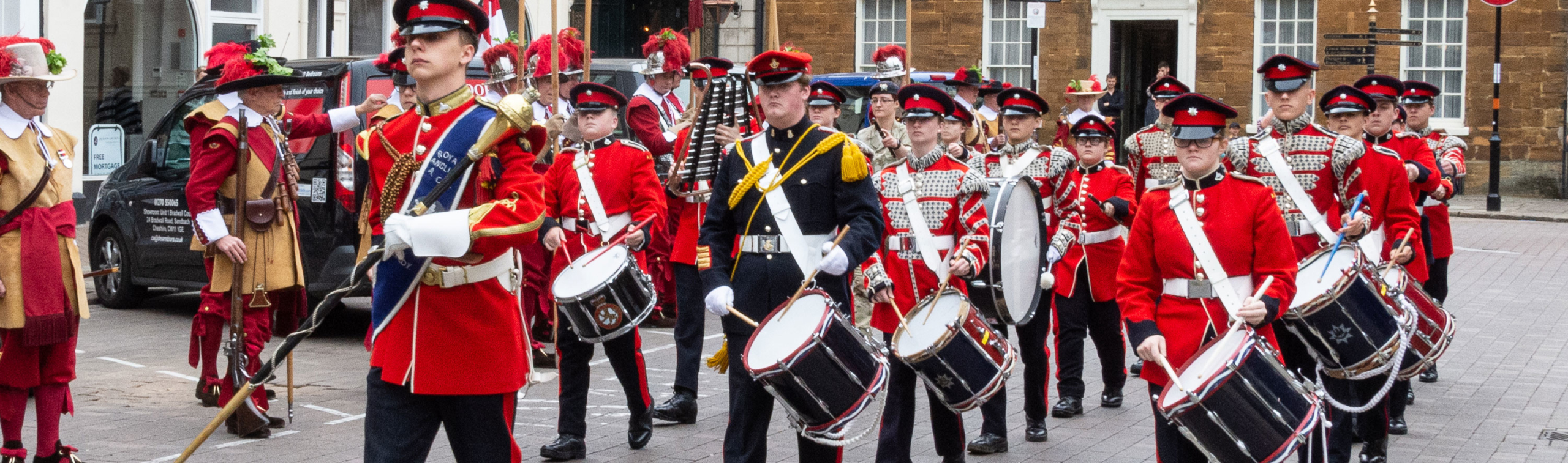 Marching Band of Cadets Northamptonshire