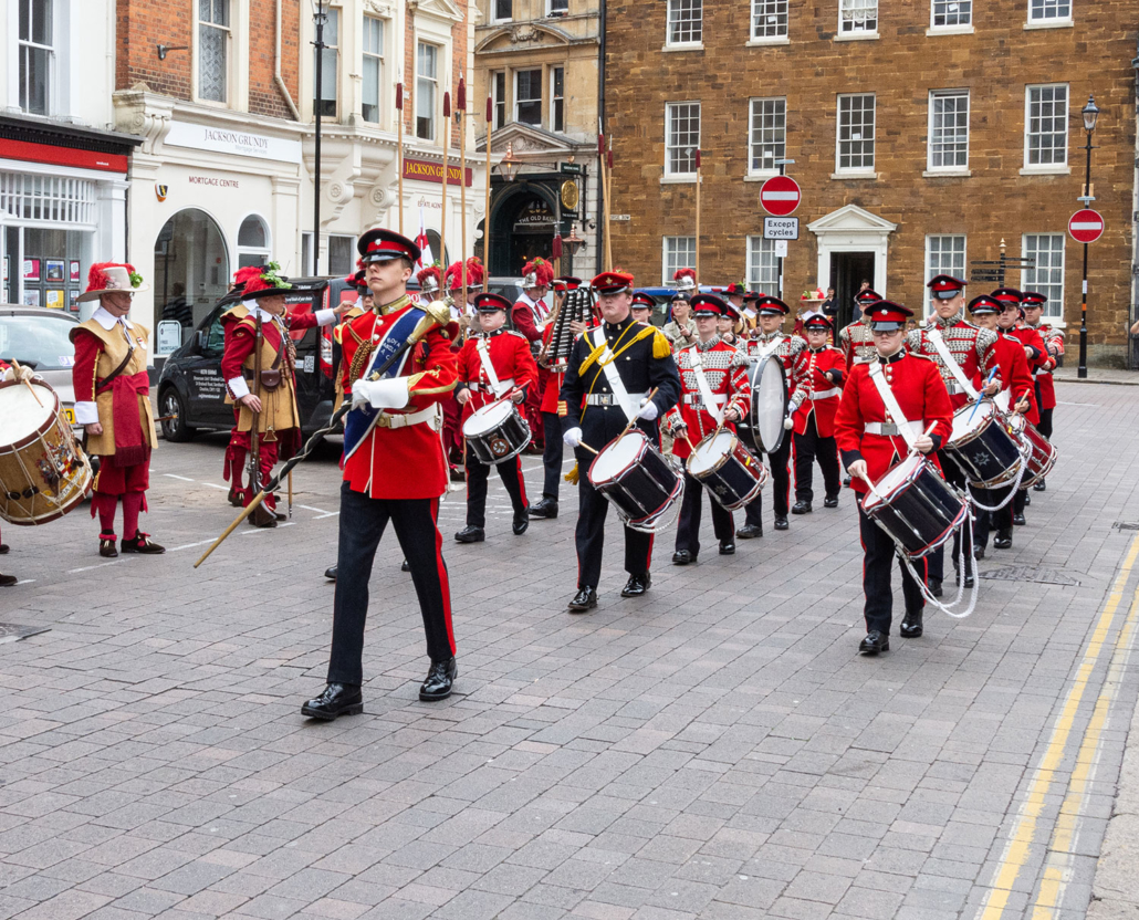 Band Marches in Northampton