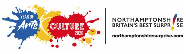 Northamptonshire-Britains-Best-Suprise- Arts and Culture Logo
