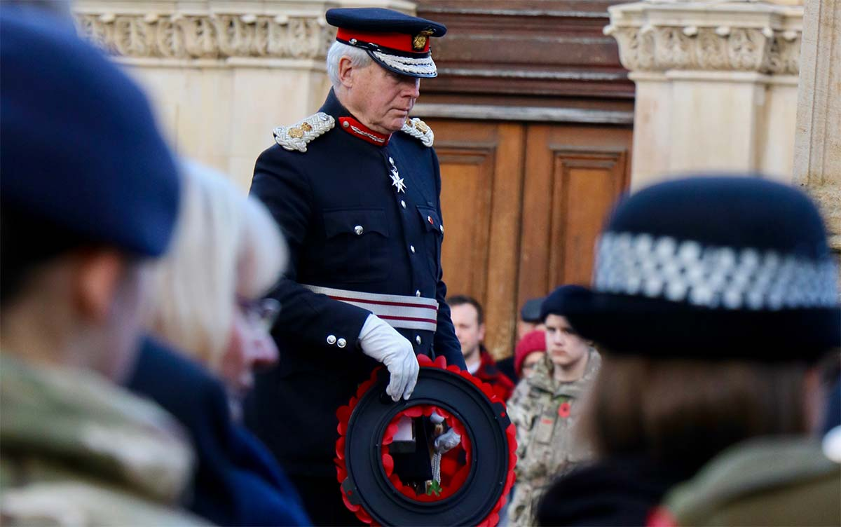 Remeberance Day wreath Laying Ceremony