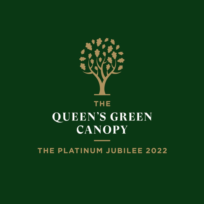 The Queen's Green Canopy Logo